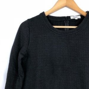 Madewell // Jacquard Grid Sweater Top